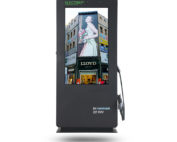 22KW Outdoor Advertising Screen With EV Charging