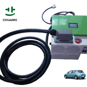 12KW portable mobile DC CHAdeMO EV charger