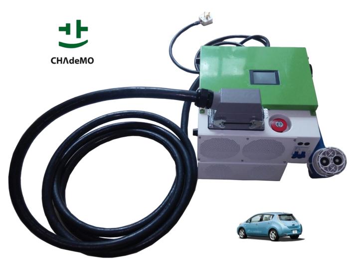 12KW portable mobile DC CHAdeMO EV charger