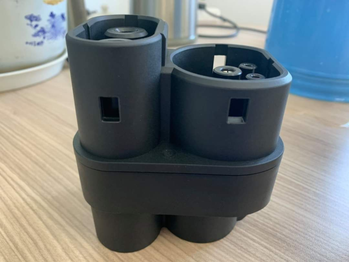 ccs2 to CCS1/ccs adapter