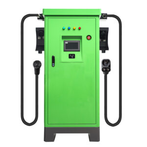 dc CHADEMO charger green