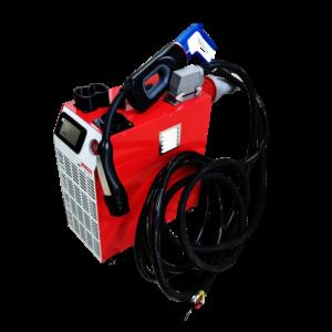 60kW Tesla mobile type supercharger